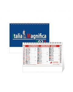 ITALIA MERAVIGLIOSA - Spiral desk calendar