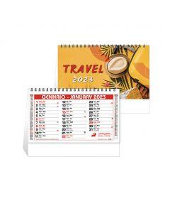 TRAVEL - Spiral desk calendar