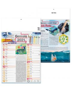 EARTH - Wall calendar ecology theme