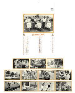 VINGTIEME - wall calendar vintage style