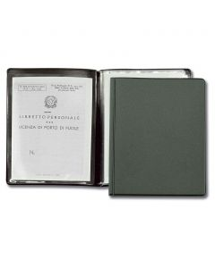 HUNT - document holder hunting with two doors with transparent envelopes