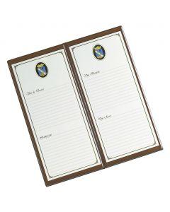 WINE CLASSIC - leatherette wine card holder