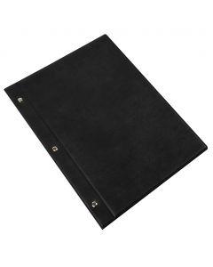 MENU CLASSIC L - large leatherette menu holder