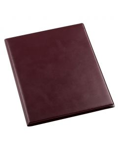 MENU ELEGANT M - medium smooth leatherette menu holder