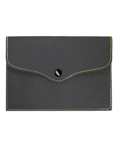 RAINBOW - rubberized PVC document holder