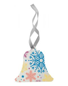 ALUTREE - Christmas tree ornament, bell