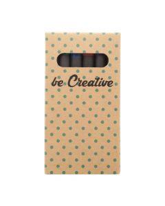 CRAXON 6 ECO - custom 6 pc crayon set