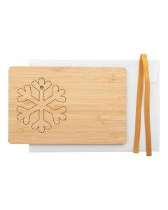 BOOCARD - Christmas card, snowflake