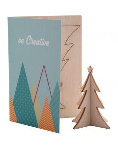 CREAX - Christmas card, Christmas tree