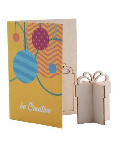 CREAX - Christmas card, gift box