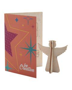 CREAX - Christmas card, angel