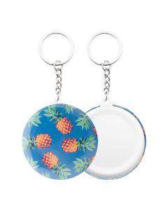 KEYBADGE MINI - pin button keyring