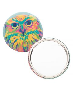 BEAUTYBADGE - pin button pocket mirror