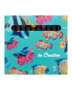 CRAXON 12 - custom 12 pc crayon set