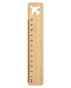 ROOLER - bamboo ruler, airplane