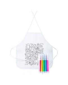 TIZY - colouring apron
