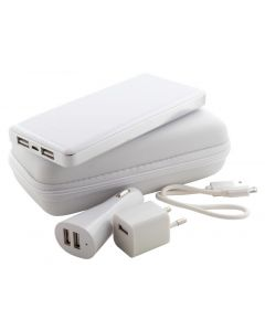 ATAZZI - USB charger and power bank set