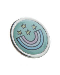 READ - metal badge