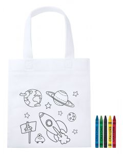 MOSBY - colouring shopping bag