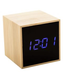 BOOLARM - bamboo alarm clock