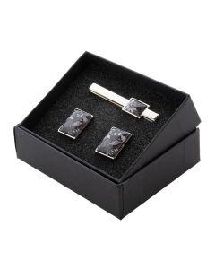 MAESTRO - cufflink and tie clip set