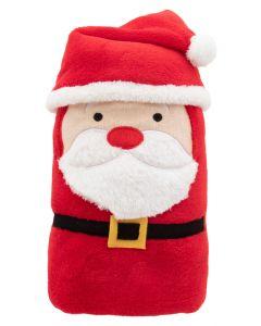HUGGER - Christmas polar blanket, Santa Claus