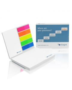 PICKPAD DOUBLE SET - sticky notes with cover