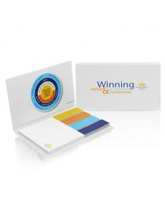 PAPER SET - sticky notes with hard cover