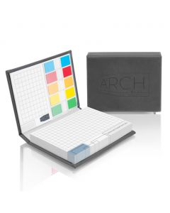 COVER SET - sticky notes with PU cover