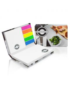 COVER SET L - sticky notes with hard cover