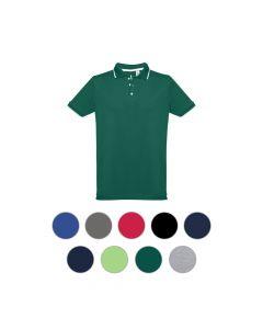 THC ROME - Men's slim fit polo shirt