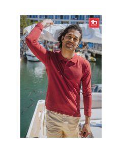 THC BERN - Men's long sleeve polo shirt