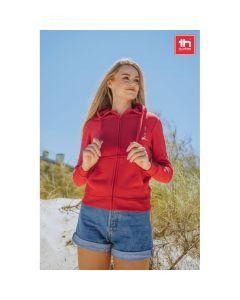 THC AMSTERDAM WOMEN - Women's hooded full zipped sweatshirt