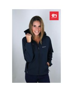 THC ZAGREB WOMEN - Women's softshell with removable hood