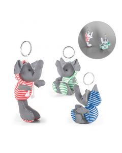 DUENA - Keyring with plush toy