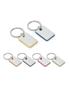 BECKET - Metal and ABS keyring