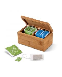 BURDOCK - Bamboo tea box