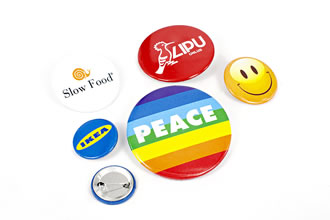 Pins as promotional items or corporate gifts