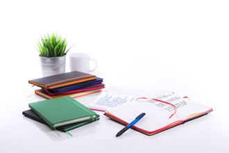 Notebooks as promotional items or corporate gifts