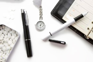 Silicone wristband bracelets as promotional items or corporate gifts